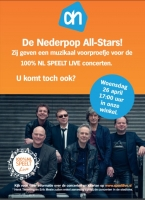 De Nederpop All Stars bij Albert Heijn XL